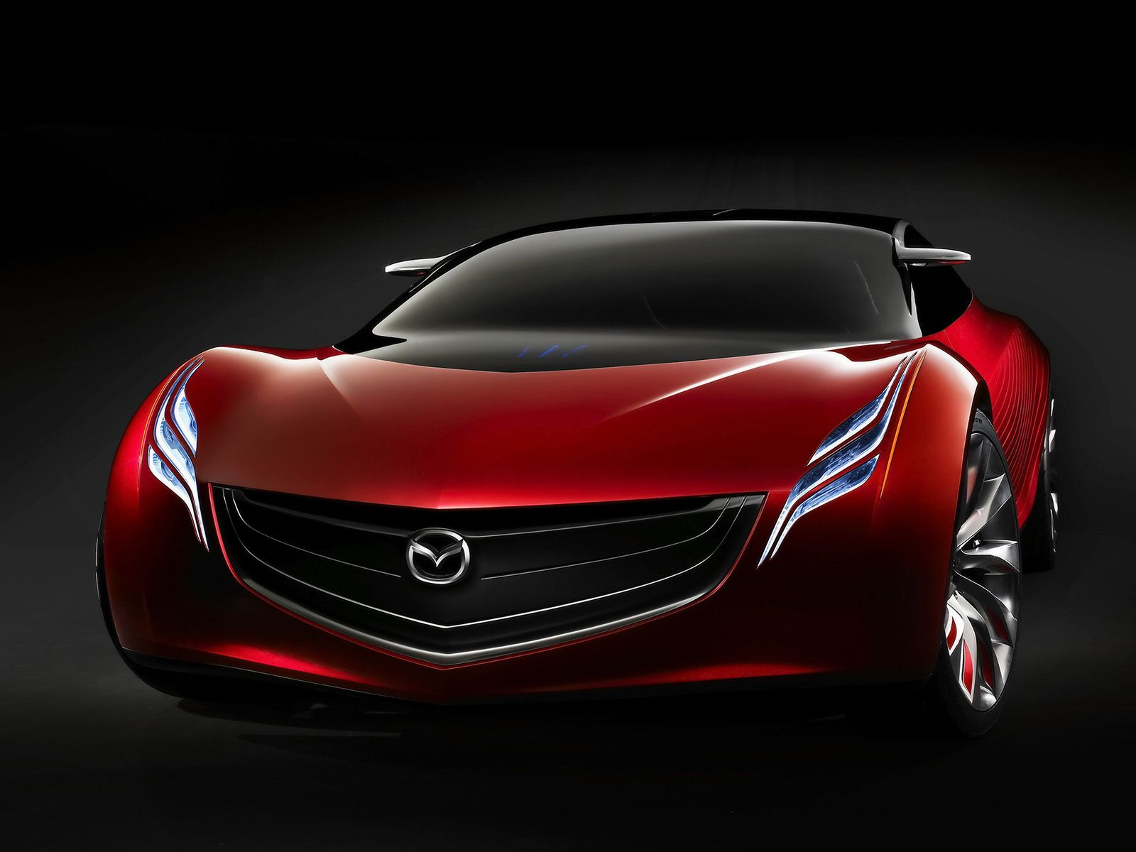 Mazda Ryuga Concept Front Low Angle Wallpaper 1600x1200