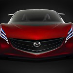 Mazda Ryuga Concept Full Front View Wallpaper