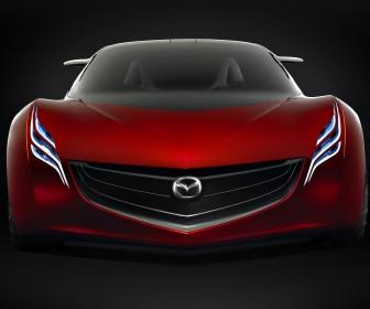 Mazda Ryuga Concept Full Front View Wallpaper