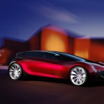 Mazda Ryuga Concept Red Side View Wallpaper