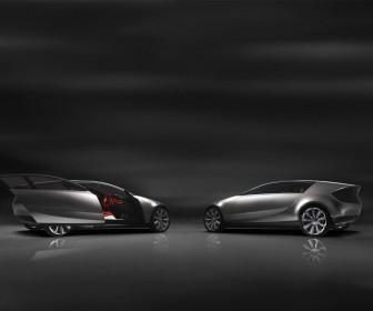 Mazda Senku Concept Side View Wallpaper