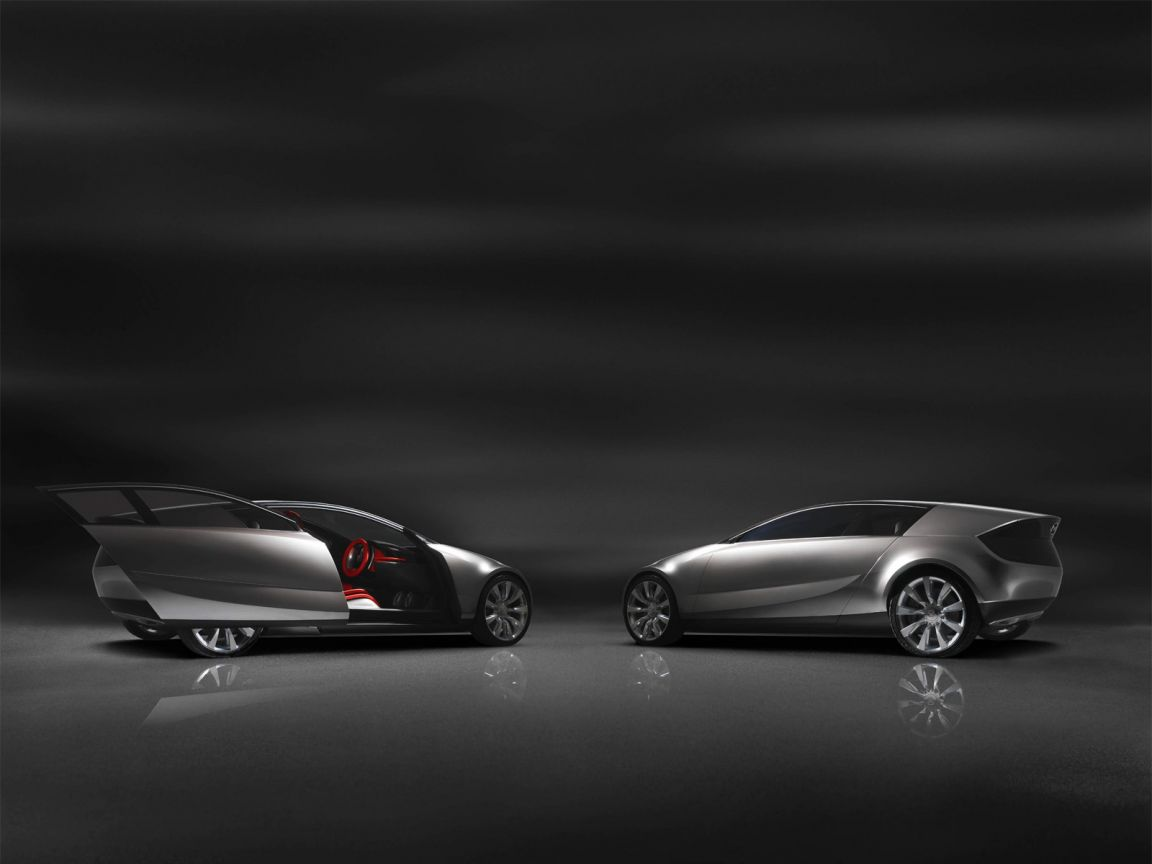 Mazda Senku Concept Side View Wallpaper 1152x864