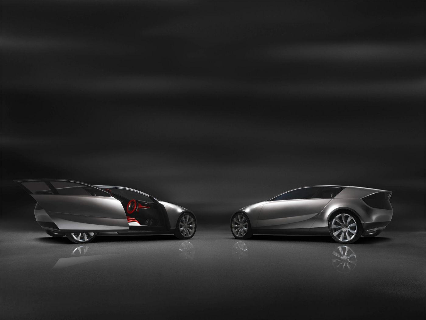 Mazda Senku Concept Side View Wallpaper 1400x1050