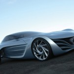 Mazda Taiki Concept Front Side Low Angle Wallpaper