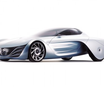 Mazda Taiki Concept White Background Wallpaper